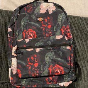 Dickies floral backpack